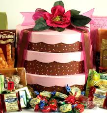 cake gift baskets you take the cake cake gift tower