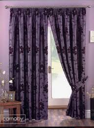 Aubergine Curtains Carnaby Lined Aubergine Curtains Harry Corry Limited