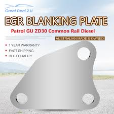 egr blanking plate for nissan patrol gu zd30 common rail diesel