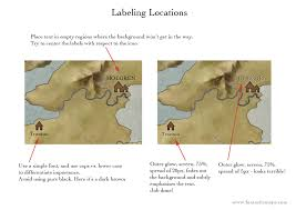 How To Use A Map Simple Labeling Fantastic Maps