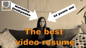 Video Resume Sample by Sample Video Resume 5 Tips To Create Video Cv Youtube
