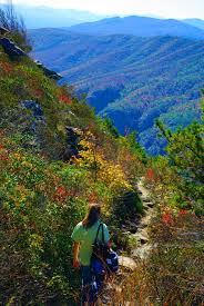 table rock hiking trail take a hike in the north carolina mountains trail to table rock in