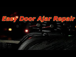 door ajar 2002 ford explorer how to repair the door ajar light on ford explorer
