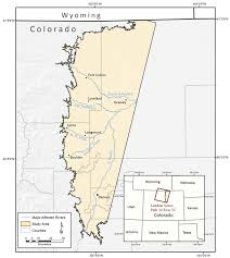 Boulder Colorado Map Map Of The Colorado Front Range And The Project Study Site