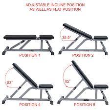 amazon com valor fitness dd 3 incline flat adjustable utility