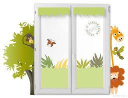 rideau chambre bébé jungle rideaux chambre bébé originaux thème savane jungle nouveau