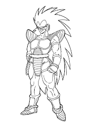 dragon ball gt coloring page free download