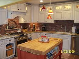 butcher block islands with stove top home ideas designs