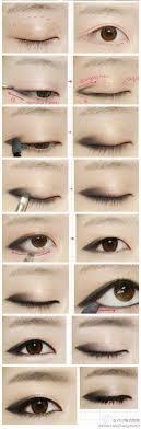 remover จาก makeup tutorial eye makeup korean makeup eyemakeup smokey eye korean eye asian makeup asian eyes eye lip