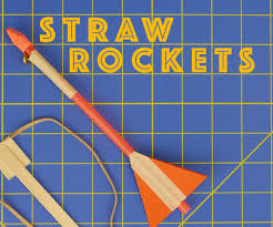 slingshot straw rockets engineering projects for kids with