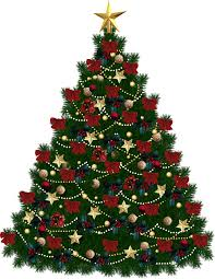 image christmas tree christmas lights decoration