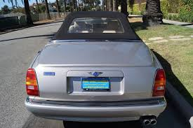 bentley 2002 1999 bentley azure parchment with blue piping stock 723 for sale