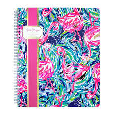 lilly pulitzer large notebook in pineapple engineered ginny marie u0027s