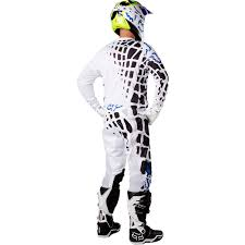 fox motocross apparel fox racing 2017 mx new 360 grav white jersey pants vented
