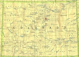 Map Of Denver Colorado by