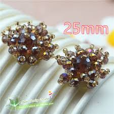 hair bow center innovative glass embroidery jewelry accessories for hair bow