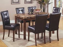 mission style dining room mission style dining room set with granite top dining table and 6