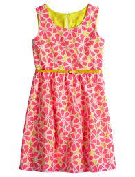 floral belted dress everyday dresses shop justice 48 90