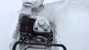 craftsman briggs u0026 stratton snow blower model 536 881651 youtube