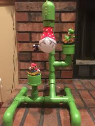 chambre mario bros pvc mario l diy pipes room and cr on diy mario bros