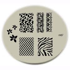 konad stamping nail art konad stamping nail art image plate m57