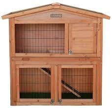 Rabbit Hutch With Large Run Bentley Pets Two Storey Rabbit Hutch Buydirect4u