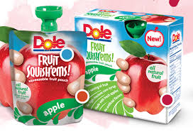 dole fruit snacks kroger 1 00 dole squish ems fruit pouches bargains to bounty