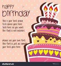 free sle birthday wishes microsoft birthday card templates europe tripsleep co