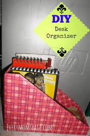 Desk Organizer Diy by Everymom U0027spage Diy Desk Organizer Book Notebooks Holder