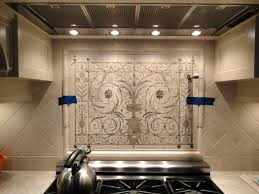 hand painted tiles for kitchen backsplash inspirations with lovely