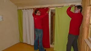 rideau placard chambre idee rideau pour placard