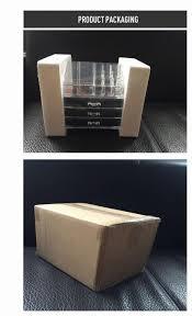 acrylic makeup organizer storage box rangement maquillage cosmetic