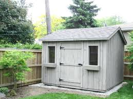 small outside storage sheds build a cedar shed free easy plans