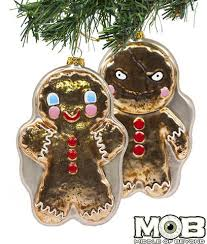 krampus movie gingerbread men christmas ornaments holiday