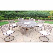 Cushioned Chairs Oakland Living Mississippi 8pc Cushioned Dining Set With 4