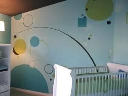chambre bébé peinture peinture mur chambre bebe dacco murale chambre enfant papier peint