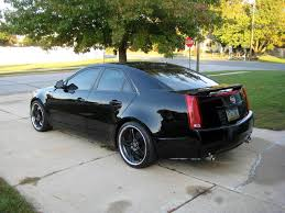lowered cadillac cts lowering the cts