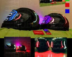 Motorcycle Helmet Lights Light Up Masks Sound Reactive Led Light Fashion Store By Huboptic