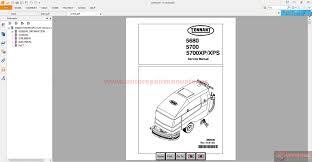 tennant service manuals technical publications auto repair