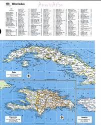 Big Map Of North America by Cuba Mapfree Maps Of North America