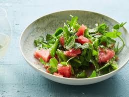 thanksgiving peas watermelon and snap pea salad with mint recipe justin chapple