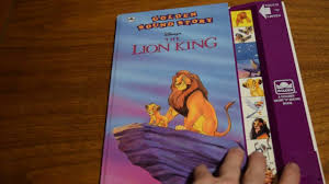 lion king golden sound story disney play sound