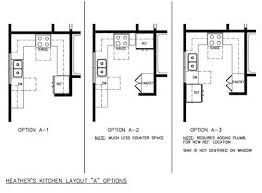 Small Kitchen Floor Plans Inspiring Idea 3 Small Kitchen Floor Plan Ideas Image Of L Shaped