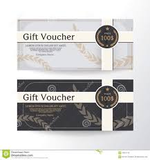 Free Graphics For Business Cards Gift Voucher Design Vector Template Layout For Business Card Gift