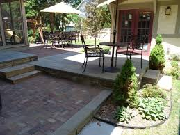 Old Metal Outdoor Furniture by Good Small Patio Designs Brick Patios And A Set Of Antique Metal