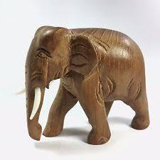 Elephant Home Decor Wooden Elephant Ebay