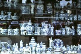 Blue And Gr by Delftware Wikipedia