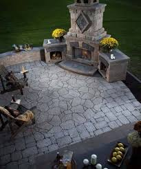 Backyard Fireplace Plans by 215 Best Outdoor Fireplaces Images On Pinterest Backyard Ideas