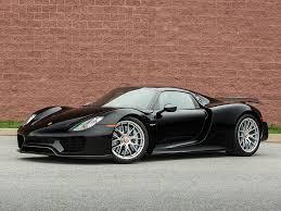 porsche supercar black 2015 porsche 918 spyder 918 u0027weissach u0027 spyder classic driver