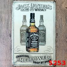 jack daniels home decor daniel u0027s whiskey home bar vintage metal signs home decor vintage